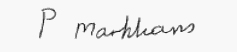 Signature of Pauline Markham, Mayor of Barnsley
